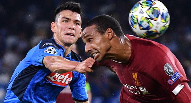 Liverpool Champions League Napoli Stadio San Paolo Dries