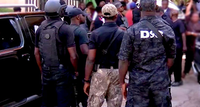 A file photo of DSS officials.