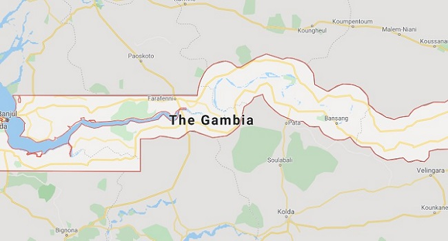 The Gambia is a small West African country, bounded by Senegal, with a narrow Atlantic coastline.
