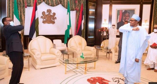 #AFDBPROBE: Liberian President, Ellen Sirleaf Congratulates Adeshina