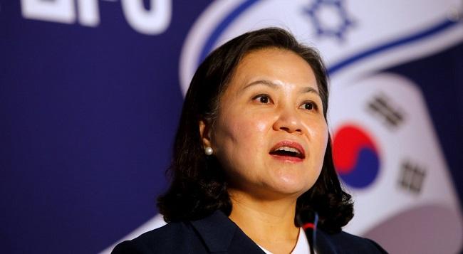 Korean Trade Minister Yoo Myung-hee