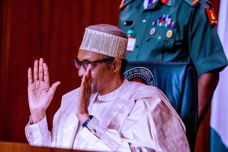 Buhari Swears In