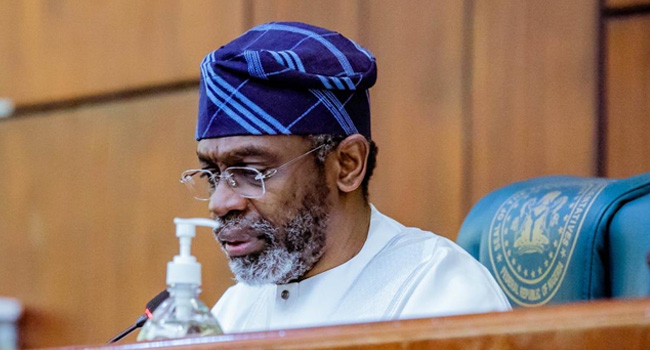 A file photo of Speaker of the House of Representatives, Femi Gbajabiamila.