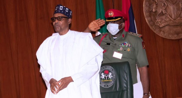 Buhari Ex Presidents1