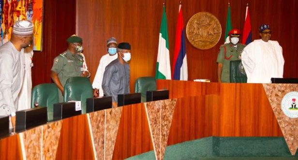 Buhari Ex Presidents2