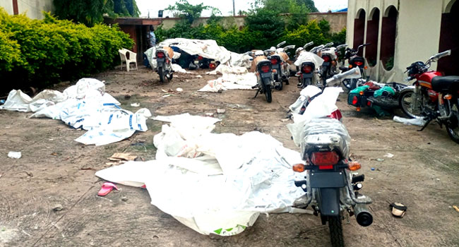 Over 350 Motorcycles, 400 Freezers, Others Looted From My House – Senator  Folarin | DABATVNEWS