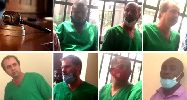 Six Foreigners, Nigerian Sentenced To Seven Years In Prison For Oil Theft –  Bioreports