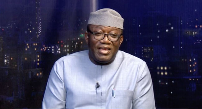 The Chairman of the Nigerian Governors Forum (NGF) and Ekiti State Governor, Mr Kayode Fayemi