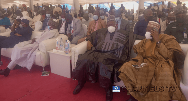 Northern State Governors were present at the commissioning of the Kano to Maradi railway on February 9, 2021.