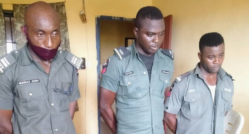 Three Policemen Dismissed For Extortion