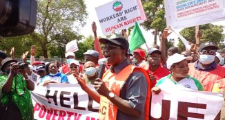 'They Are Sabotaging Economic Activities Of Kaduna State,' Govt Condemns NLC Protest