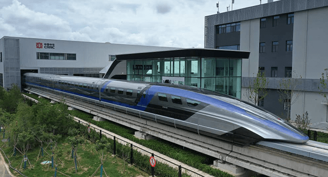 """A Chinese state-run company on Tuesday unveiled what it described as the world's """"fastest ground vehicle available"""" on July 20, 2021. Peoples Daily"""