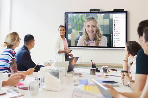Produttività in ufficio, arriva Sharp Windows collaboration display