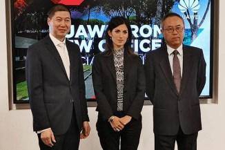 Huawei inaugura gli uffici di via Laurentina a Roma