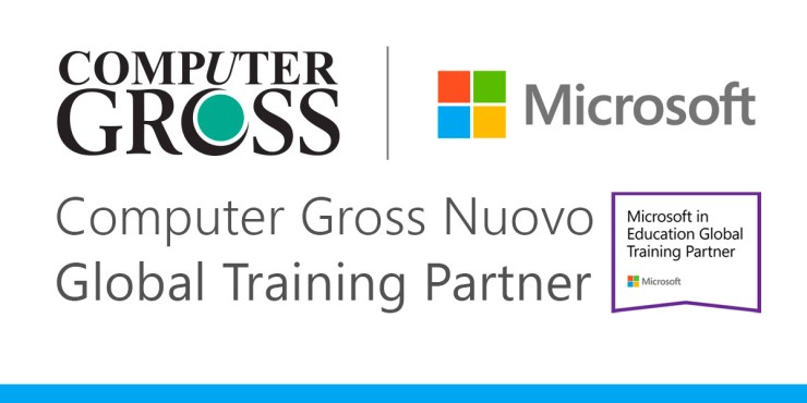 Computer Gross può erogare corsi formativi ufficiali Microsoft