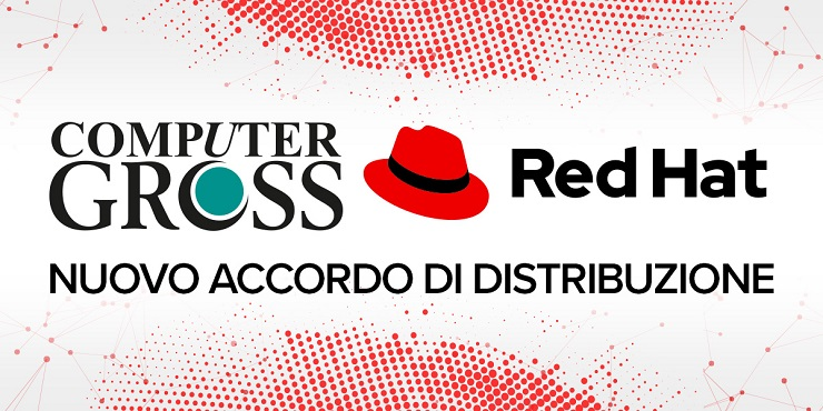 Computer Gross sigla un accordo di distribuzione con Red Hat