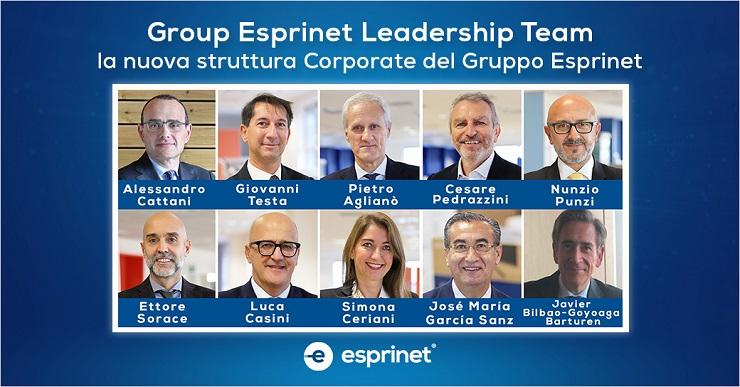 Nasce GELT, Group Esprinet Leadership Team