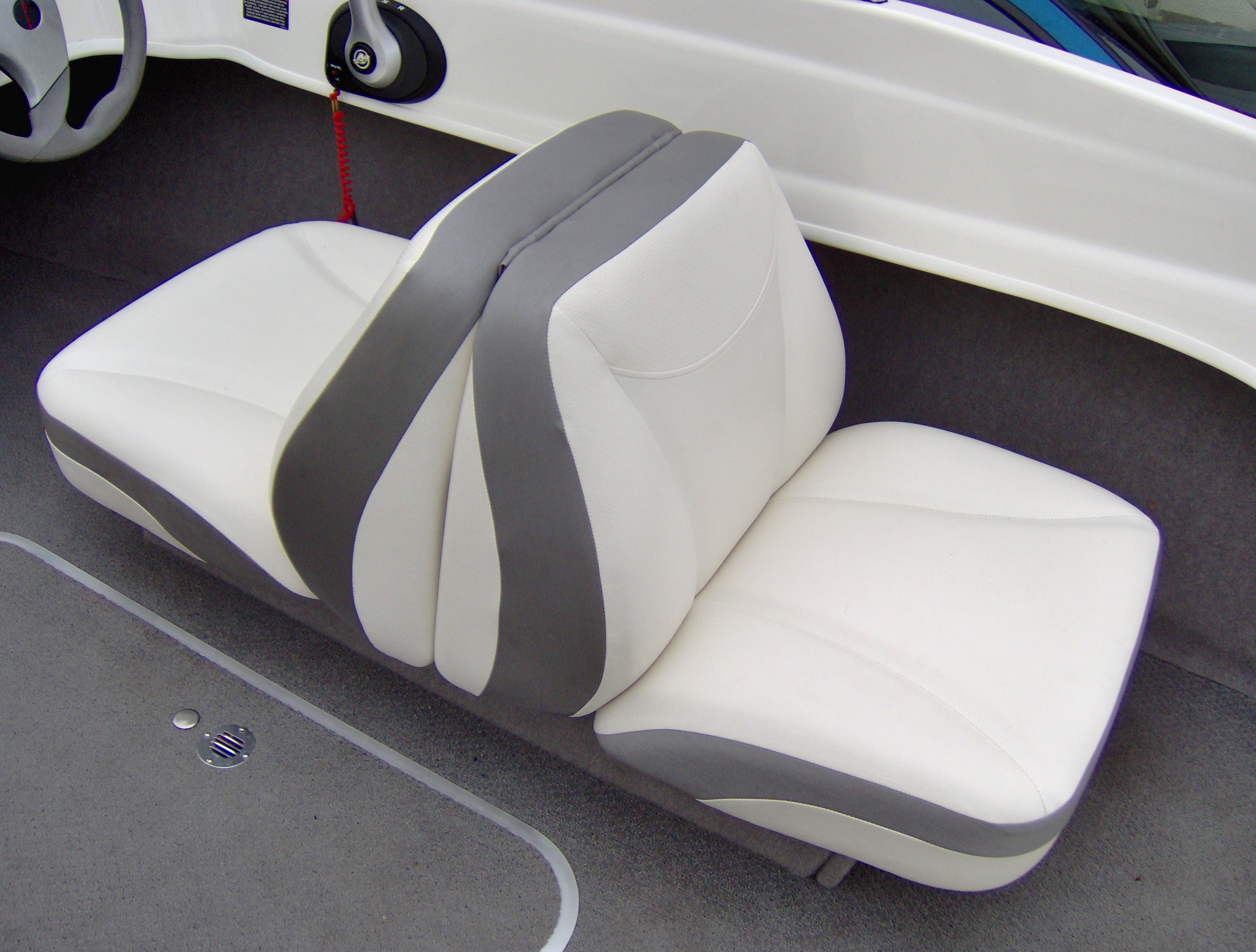 replacement captains chairs for boats desk chair headrest attachment 1989 bayliner capri seat covers velcromag