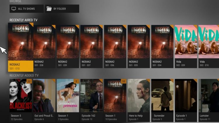 Plex TV shows! Watch your shows instantly, or bing watch!