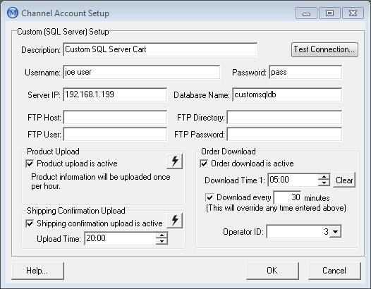 Custom SQL Server setup