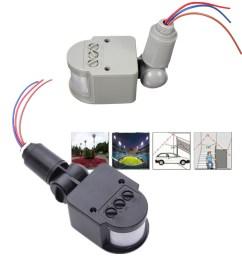 110v 240v led outdoor infrared pir motion sensor detector motion sensor light diagram heath zenith motion sensor wiring [ 1200 x 1200 Pixel ]