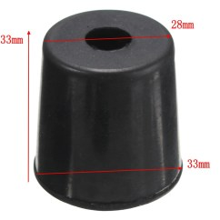 Rubber Chair Leg Protectors Universal Covers In Bulk Furniture Table Crutch Feet Stools Protector