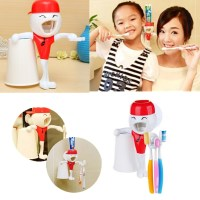 kids Funny Toothbrush Holder Automatic Toothpaste ...