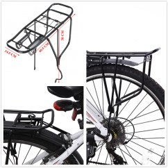 Bike Beach Chair Holder Dining Table And Set Uk Heavy Duty Alloy Disc Brake Quick Release Rear Rack