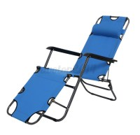 US Metal Folding Chaise Lounge Patio Chair Outdoor Pool ...