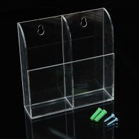 Clear TV Air Conditioner Remote Control Storage Box Holder ...