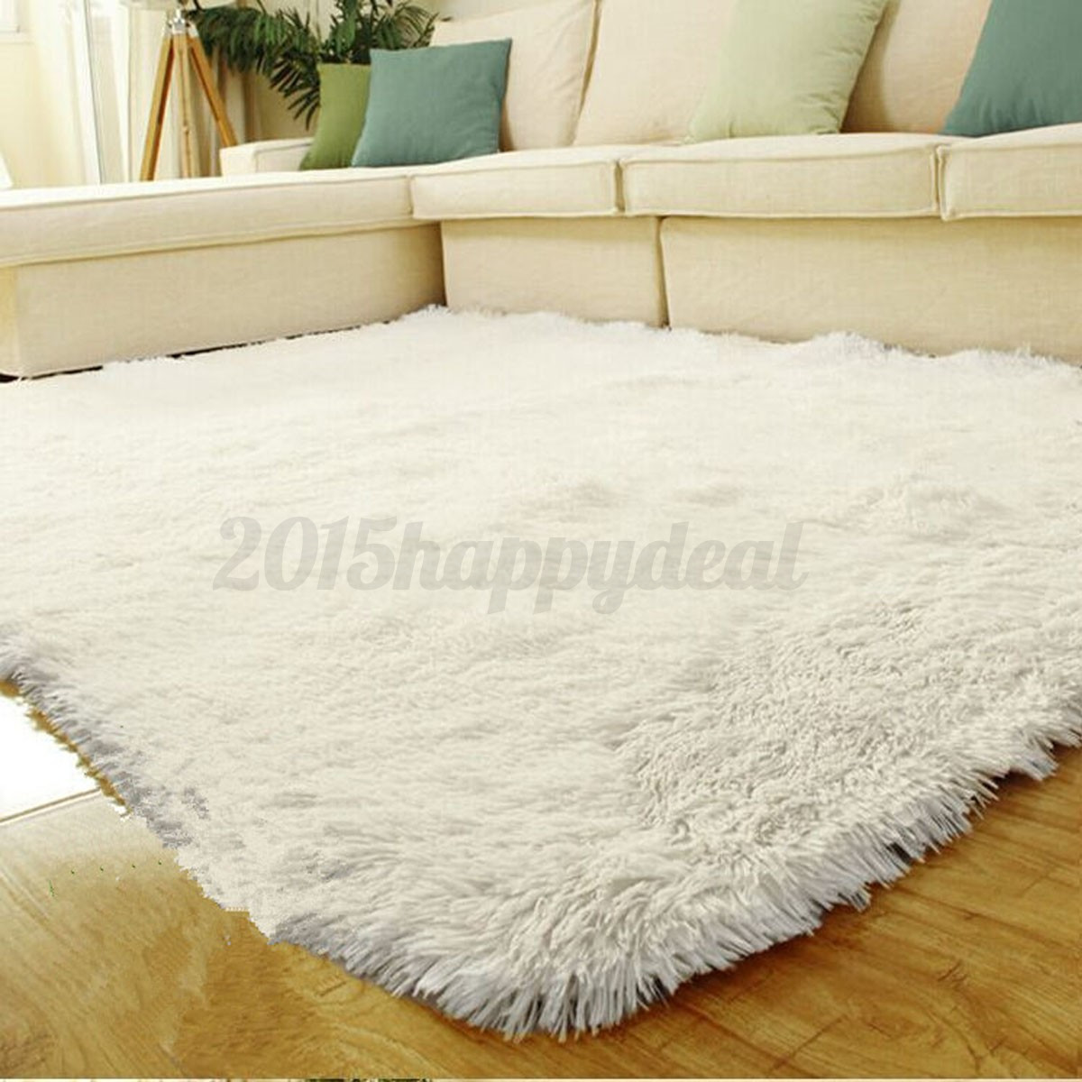 Fluffy Antiskid Shaggy Area Rug Carpet Home Bedroom Floor Room Mat 14070cm UK  eBay