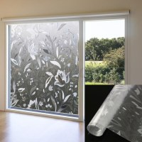 45x100cm Recyclable Frosted Glass Home Window Film 3D ...