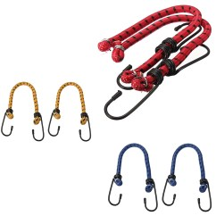 Bungee Cord Chair Diy Covers For Leather Sectionals 12x Straps Cords Elastic Luggage Ropes Hook Car