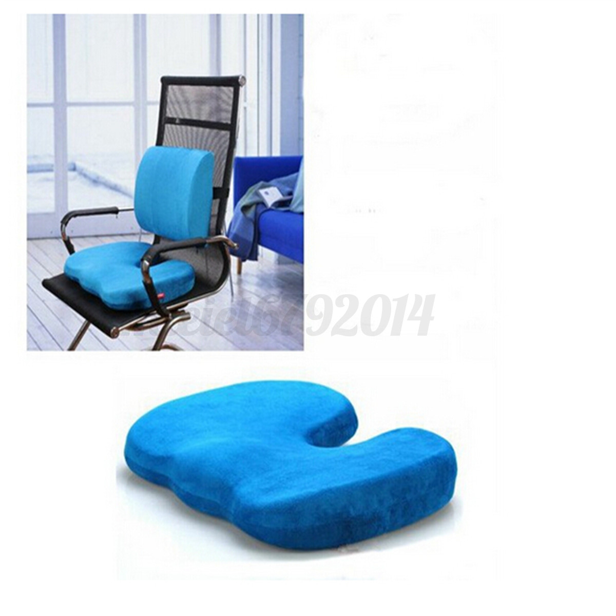 back pain office chair cushion hanging papasan diy memory foam seat relief orthopedic