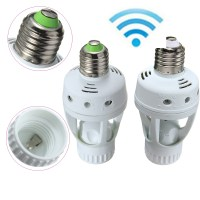 E27 ES Infrared PIR Motion Sensor LED Lamp Bulb Holder ...