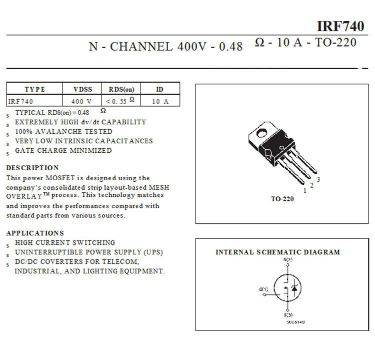 Fet Circuit Diagram
