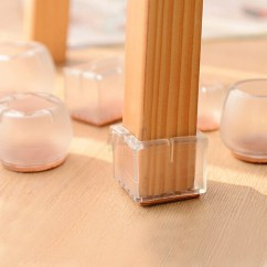 Chair Wood Floor Protector Antique Chinese Chairs 8pcs Leg Feet Silicone Caps Pad Furniture Table