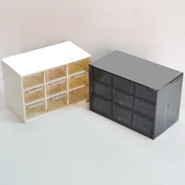 Plastic 9 Lattice Portable Mini Debris Cabinets Amall