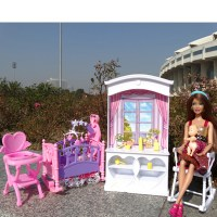 Bathroom/Bedroom/Garden/Kitchen/ Furniture Play Set For