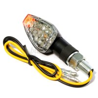12V 2-Wire ATV Motorcycle Car Scooter 14-LED Turn Signals ...