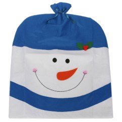 Kirklands Christmas Chair Covers Desk Youth Back Cover Snowman Hat Xmas Decoration