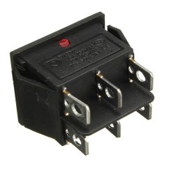 Illuminated Marine Rocker Switches 1984 Chevy Truck Electrical Wiring Diagram 6 Pin Mini On Off Switch Dpdt With Led