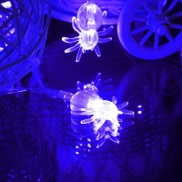 Halloween 20 LED String Fairy Lights Spiders Party Window ...