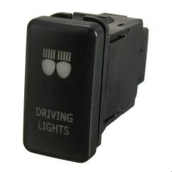 Toyota Land Cruiser Prado 120 Wiring Diagram Shovelhead Points Led Light Bar Push Switch For Landcruiser Hilux Fj Oem | Ebay