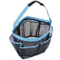 8 Pocket Shower Caddy Mesh Portable Quick Dry Travel Tote