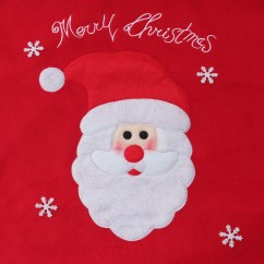 Christmas Chair Covers Pinterest Mid Century Modern Table And Chairs Back Cover Santa Claus Snowman Dinner