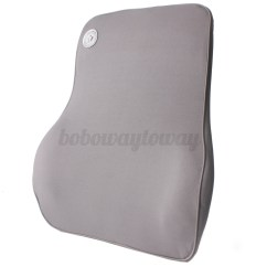 Chair Pillow For Back Rustic Dining Room Table And Chairs Lumbar Cushion Support Waist Memory Foam Home