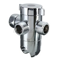 3 Types 1/2'' 3 Way Brass Shower Head Bath Angle Valve