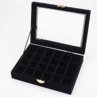 Earring Storage Box Uk Uk Velvet Ring Display Jewelry