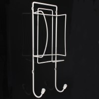 Metal Wall Mounted Board Iron Ironing Holder Rack Bracket